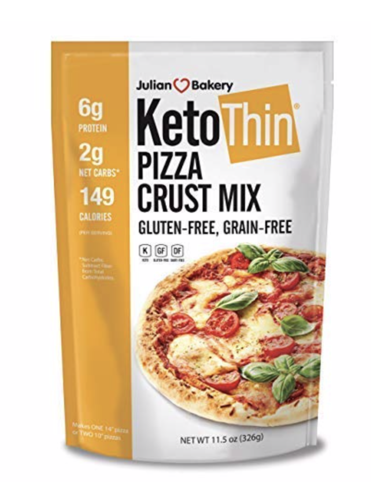 keto thin pizza crust mix