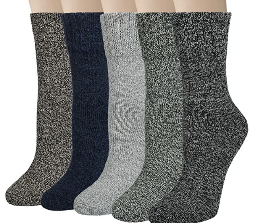 warm hiking socks