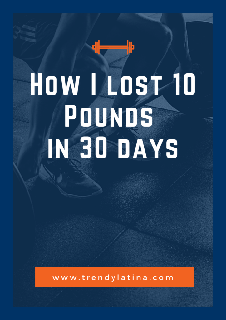 lose 10 pounds in 30 days