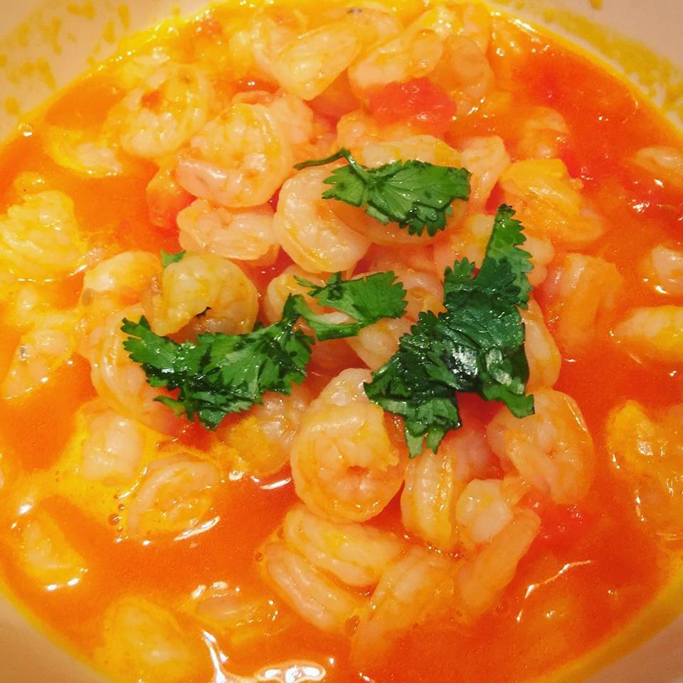 Keto Shrimp Stew