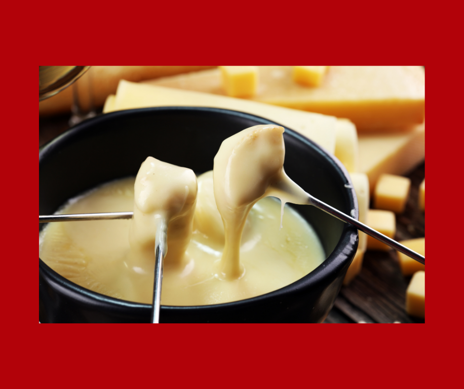 Valentines fondue
