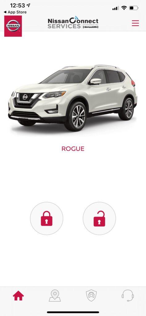 Nissan Connect app