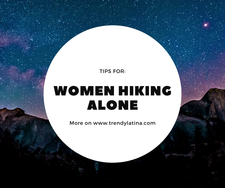 tips for women hiking alone