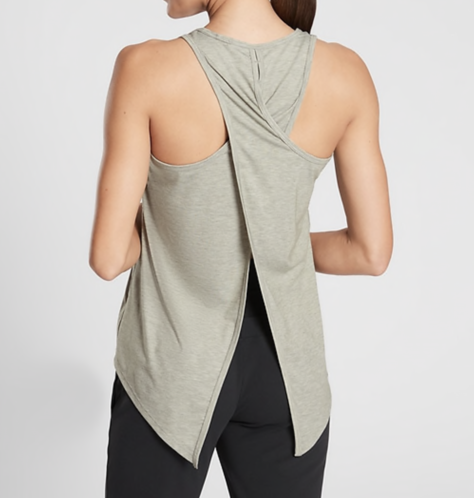 athleta essence tie back tank