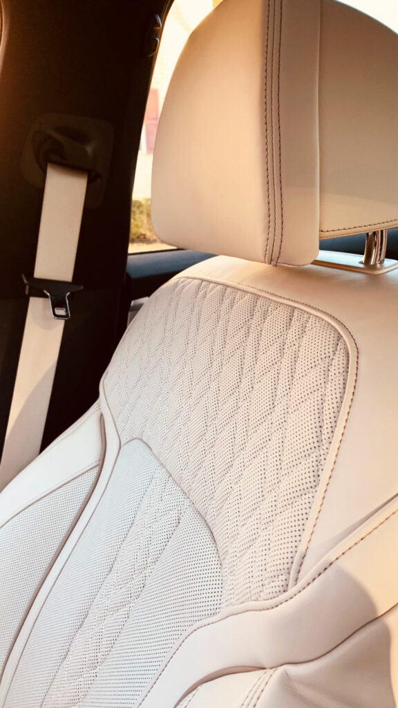 leather seats in 2021 BMW 530e