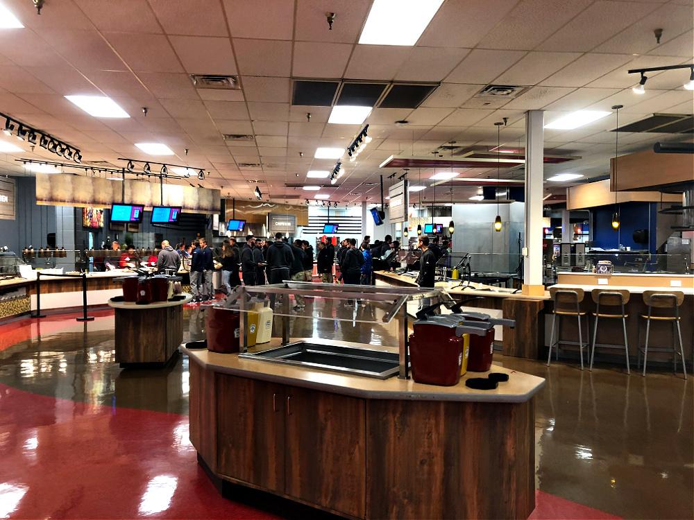 Liberty University cafeteria