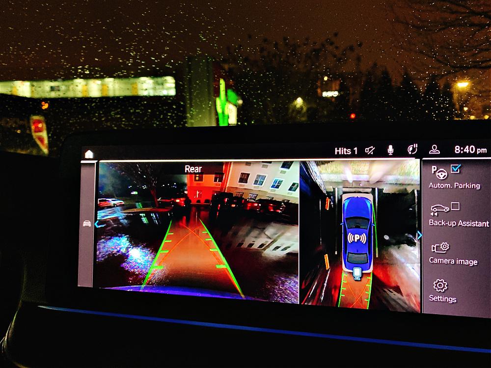 2021 BMW 530e camera system