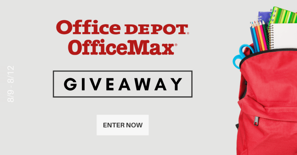 Office Depot Office Max Giveaway