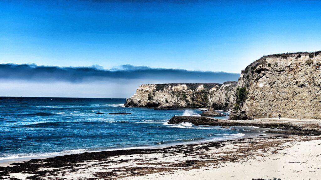 view of the ocean along shoreline drive