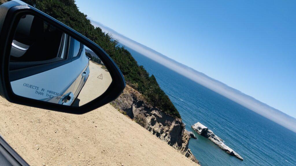 California Santa Cruz coastline