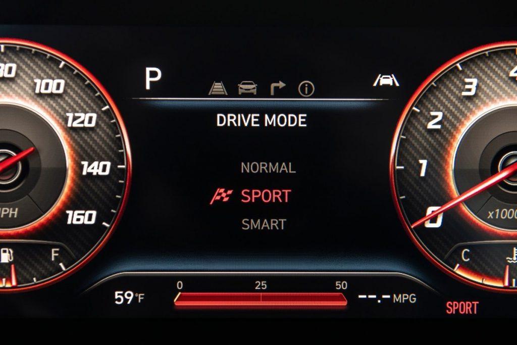driving modes on the new Santa Cruz