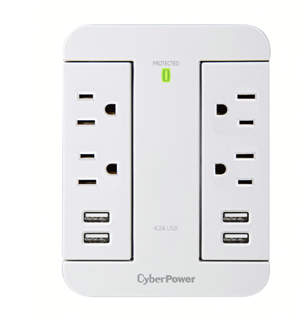 surge protector with usb ports